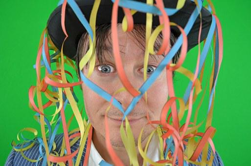 Party, Carnival, Streamer, Fasnet, Colorful