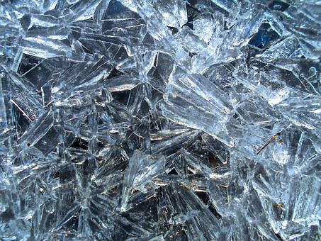 Two, Ice, Natural Art, Winter, Ice Formations, Texture