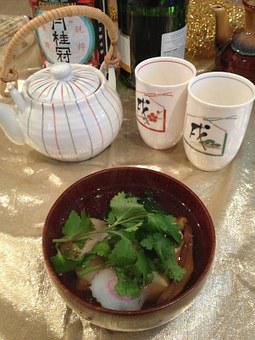 Ozoni, Japanese Soup, Traditional, Cooking, Japanese