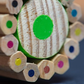 Pencils, Colors, Lines, Wood, Forest, Instrument