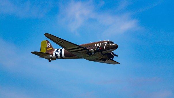 Air Force, Air Show, Aircraft, Airplane, Aviation, C-47
