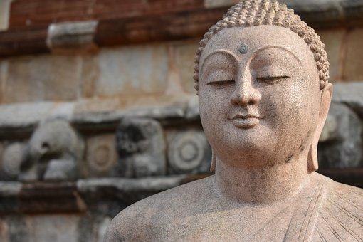 Buddha, Sri Lanka, Statue