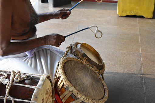 Drummer, Traditional, Music, Culture, Instrument