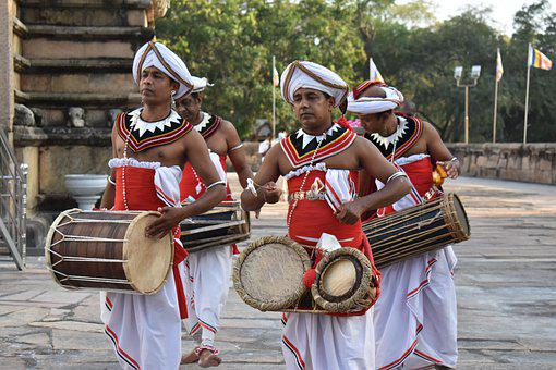 Men, Traditional, Drummers, Instruments, Percussion