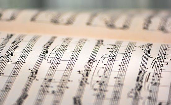 Music Book, Music Sheet, Musical Notes, Sheet Music
