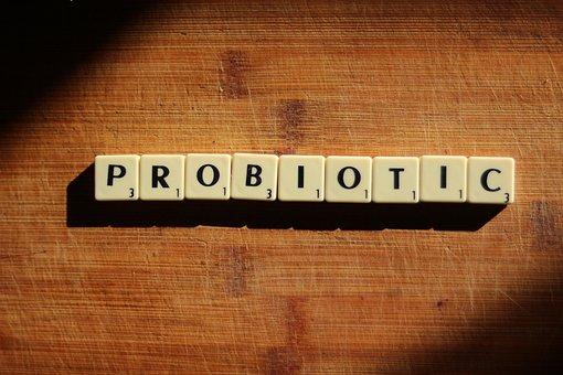 Probiotic, Scrabble, Wood, Lettters, Text