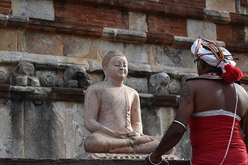 Buddhism, Buddha, Statue, Sculpture, Sri Lanka, Pagoda