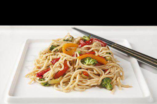 Noodle, Asian Noodles, Vegetable Noodles, Chopstick