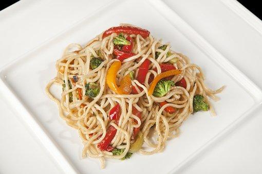 Noodles, Asian Noodles, Vegetable Noodles, Stir-fried
