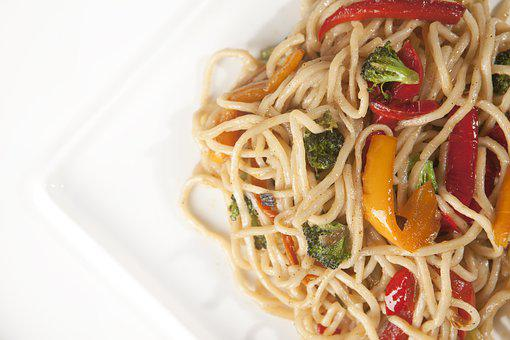 Noodles, Asian Noodles, Vegetable Noodles, Stir-fried