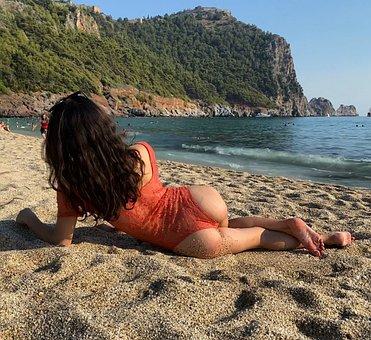 Girl, Turkey, Woman, Young, Hair, Model, Landscape