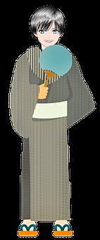 Man, Traditional, Anime Japanese Clothing, Naruto