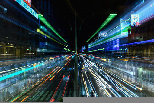 Traffic, City, Road, Car, Automotive, Light, Natural