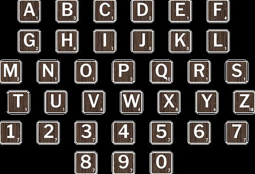 Scrabble Letters, Letters, Font, Words, Scrabble, Wood