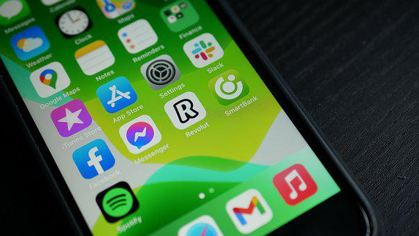 Smartphone, Apps, Screen, Applications, Mobile Phone