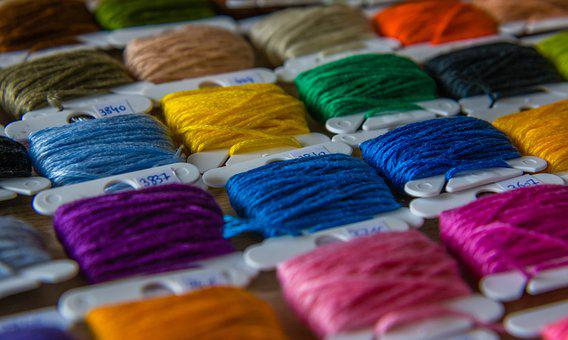 Yarn, Cords, Colorful, Green, Blue, Yellow, Red, Orange