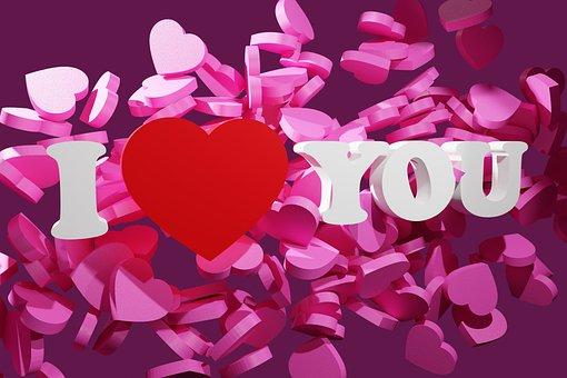 I Love You, Love, Hearts, Valentine's Day