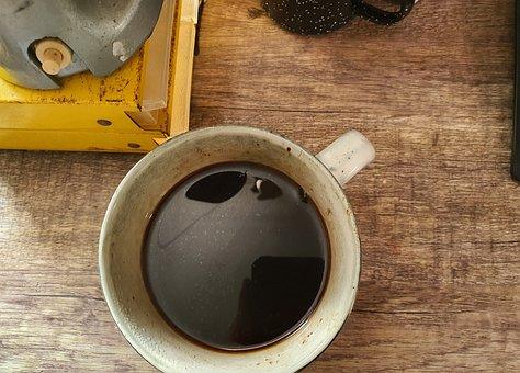 Coffee, Desk, Black Coffee, Mug, Thirsty, Morning