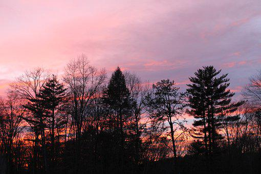 Sunset, Nj, Sky, Outdoor, Nature, Natural, Scenic