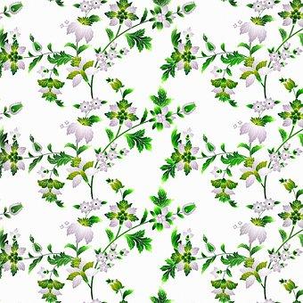 Digital Paper, Floral Pattern, Pattern, Paper, Vintage