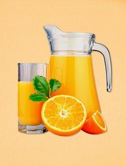 Juice, Orange Juice, Drink, Glass, Pitcher, Beverage