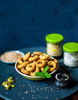 Ramadan, Sweets, Desserts, Sesame, Pistachio, Syrian