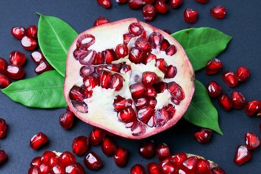 Pomegranate, Seeds, Fruit, Food, Healthy, Vitamins