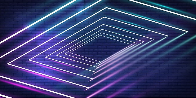 Logo, Banner, Light, Sports, Graphics, Wall, Neon, Game