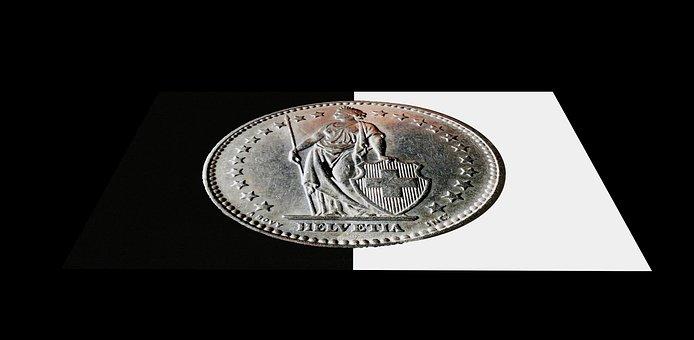 Switzerland, Swiss Franc, Money, Coins, Cash, Specie