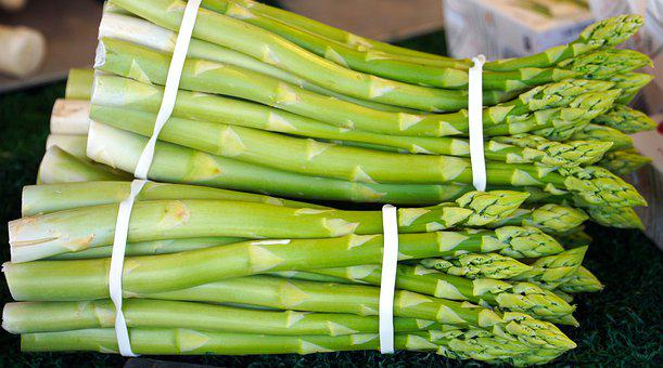 Asparagus, Vegetable, Bundles, Produce, Harvest, Food
