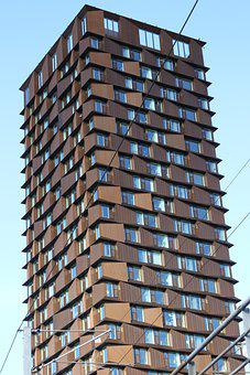 Copenhagen, High-rise Building, Nørrebro