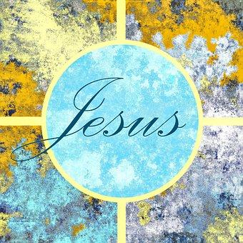 Jesus, Christianity, Calligraphy, Christ, Cross, God