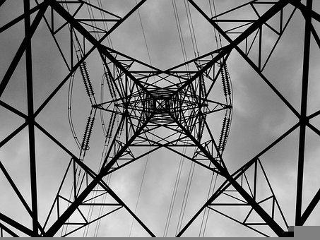 Electricity, Electric, Tower, Structure, Pylon
