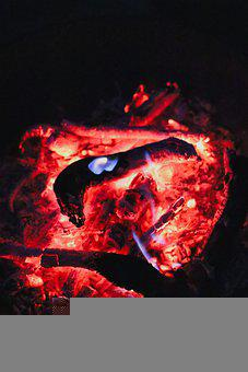 Wood, Ember, Fire, Firewood, Coal, Burning, Heat