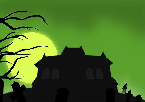 Haunted, Horror, Scary, Spooky, Creepy, Ghost, Gloomy