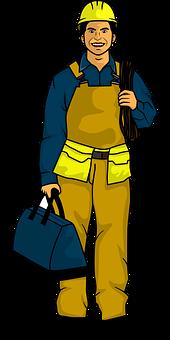 Repairman, Worker, Man, Repair Staff, Maintenance Staff
