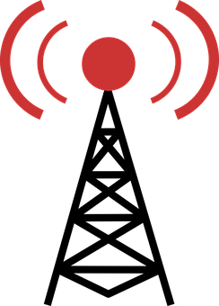 Radio Tower, Satellite, Radio Communication