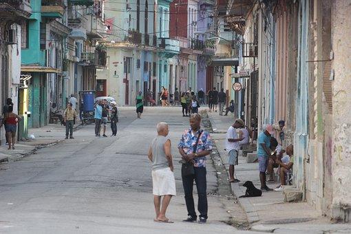 Street, Road, People, Crowd, Buildings, Urban, City