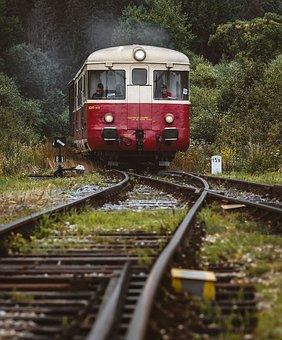 Train, Railroad, Travel, Tracks, Transport
