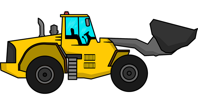 Excavator, Vehicle, Construction Equipment