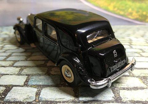 Model Car, Vintage, Citroen, 1952 Citroen, Vintage Car