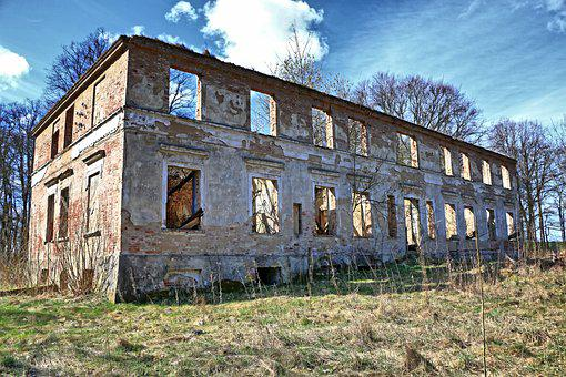 Ruin, Building, Abandoned, Architecture, Shabby