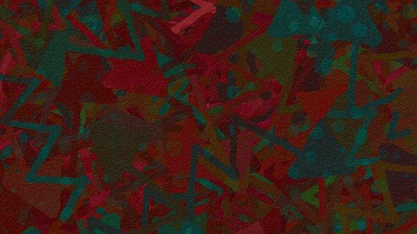Chevron, Zig Zag, Lines, Arrow, Colorful, Red, Crimson