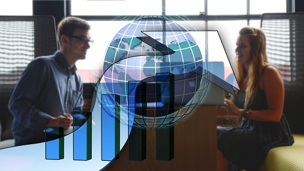 Meeting, Globe, Chart, Statistics, Global, Employees