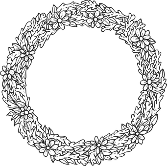 Frame, Wreath, Flowers, Circle, Round, Decorative