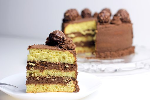 Chocolate Cake, Cake, Dessert, House Cake, Food