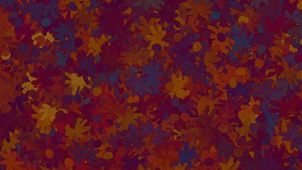 Leaves, Foliage, Plants, Pattern, Colorful, Glow