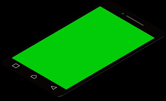 Mobile Phone, Screen, Device, Green Screen, Touchscreen