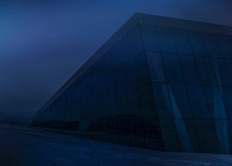 Oslo, Opera, Norway, Opera House, Night, Dark, Evening