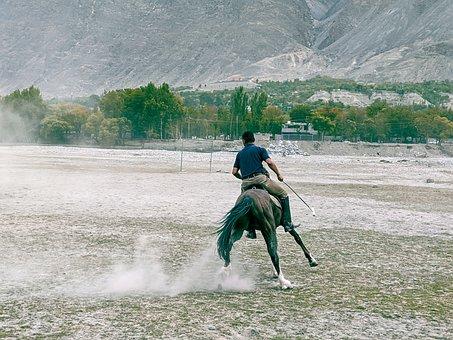 Pakistan, Horse, Riding, Polo, Kumrat, Kpk, Green